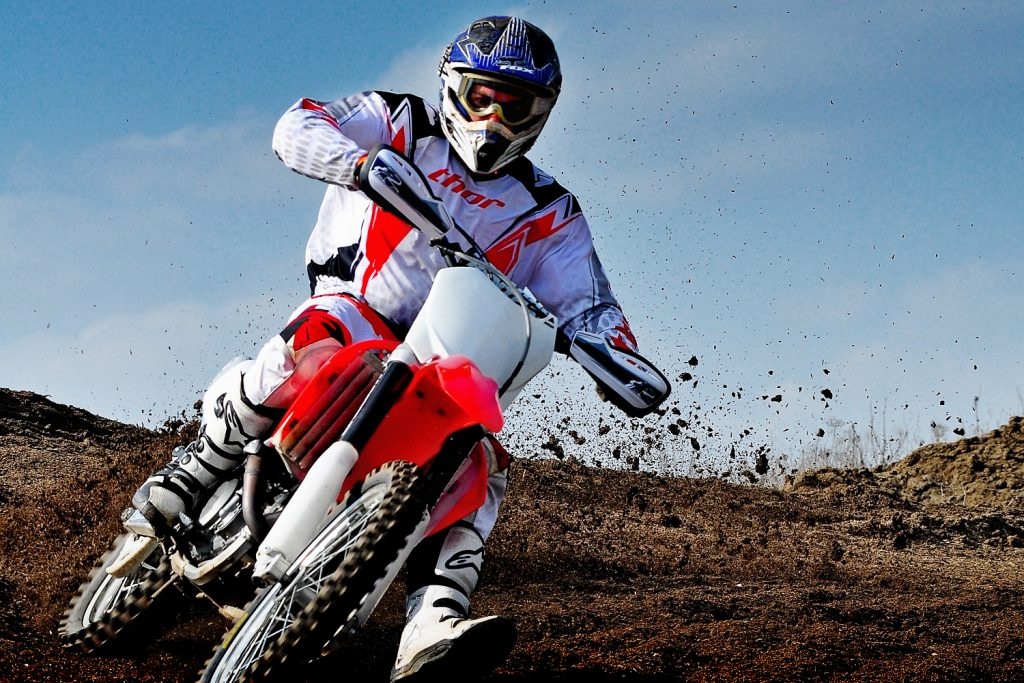 Services motorcycle stunts and tricks